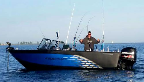 Fully Equipped 2017 Starcraft 210 FishMaster