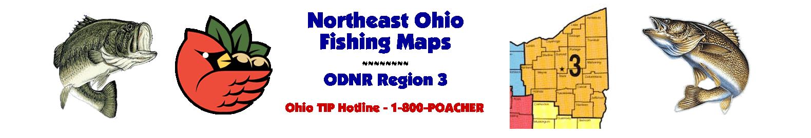 Northeast Ohio Fishing Maps - ODNR Region 3