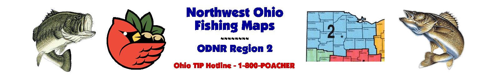 Northwest Ohio Fishing Maps - ODNR Region Two
