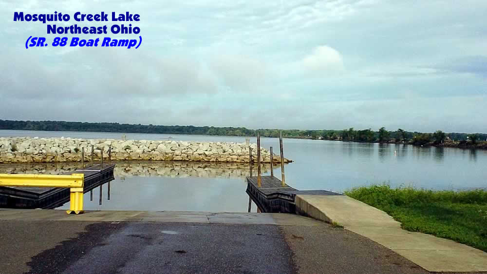 Mosquito creek lake fishing map gofishohio hq for Mosquito lake fishing