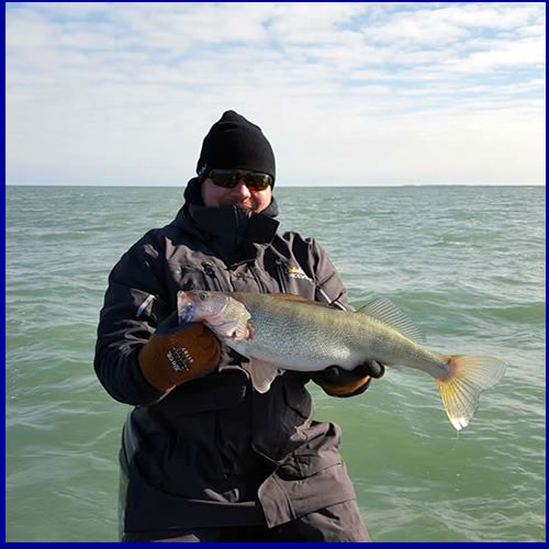 Blue Dolphin - Lake Erie Walleye Fishing Charters