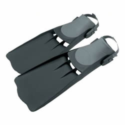 flippers- float tube accessories