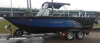 Starcraft 210 FishMaster - Blue Dolphin Walleye