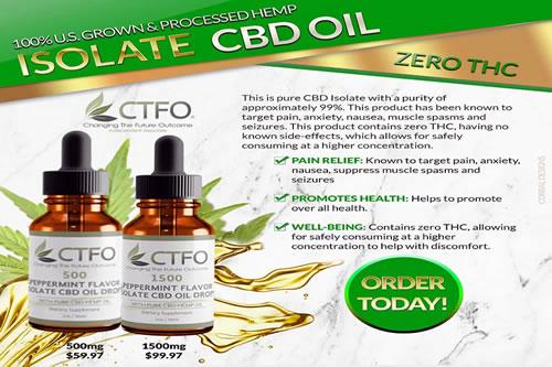 CBD Isolate Oil - Simply Healthy Life
