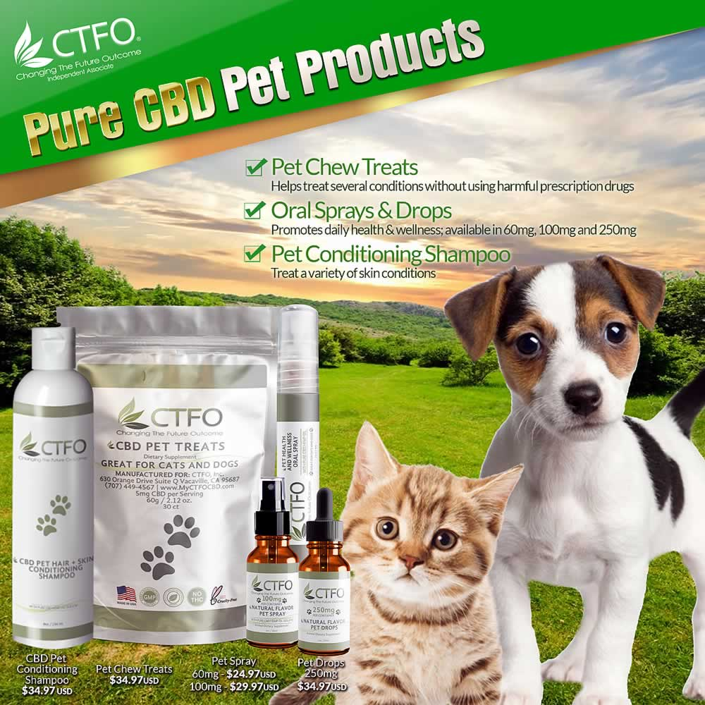 CTFO Pet Products - Simply Healthy Life