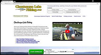 Chautauqua Lake Fishing - Fishing Info Net