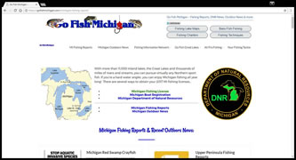 Go Fish Michigan - Fishing Information Network