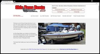 Ohio Bass Boats - Boats For Sale