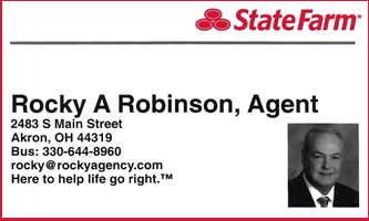 Rocky Robinson - State Farm Insurance Agent