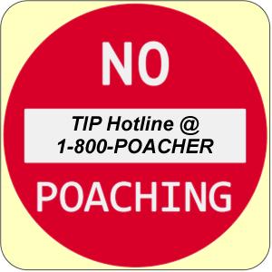 Ohio TIP Hotline @ I-800-POACHER