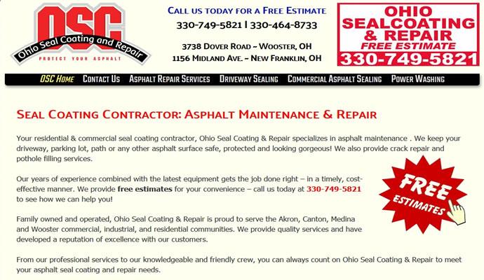 Ohio Seal Coating - Makes It Last