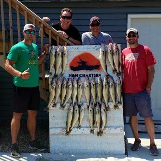Lake Erie Walleye Fishing - June 20, 2020