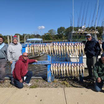 Blue Dolphin Charters - Lake Erie Walleye Fishing