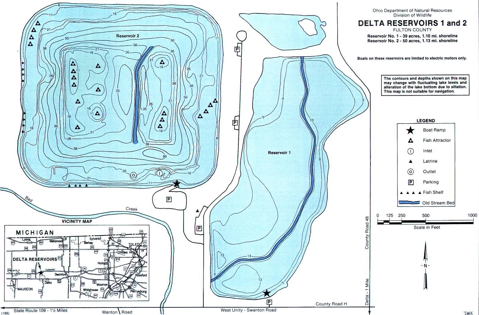 Delta Reservoir 1 & 2 - GoFishOhio