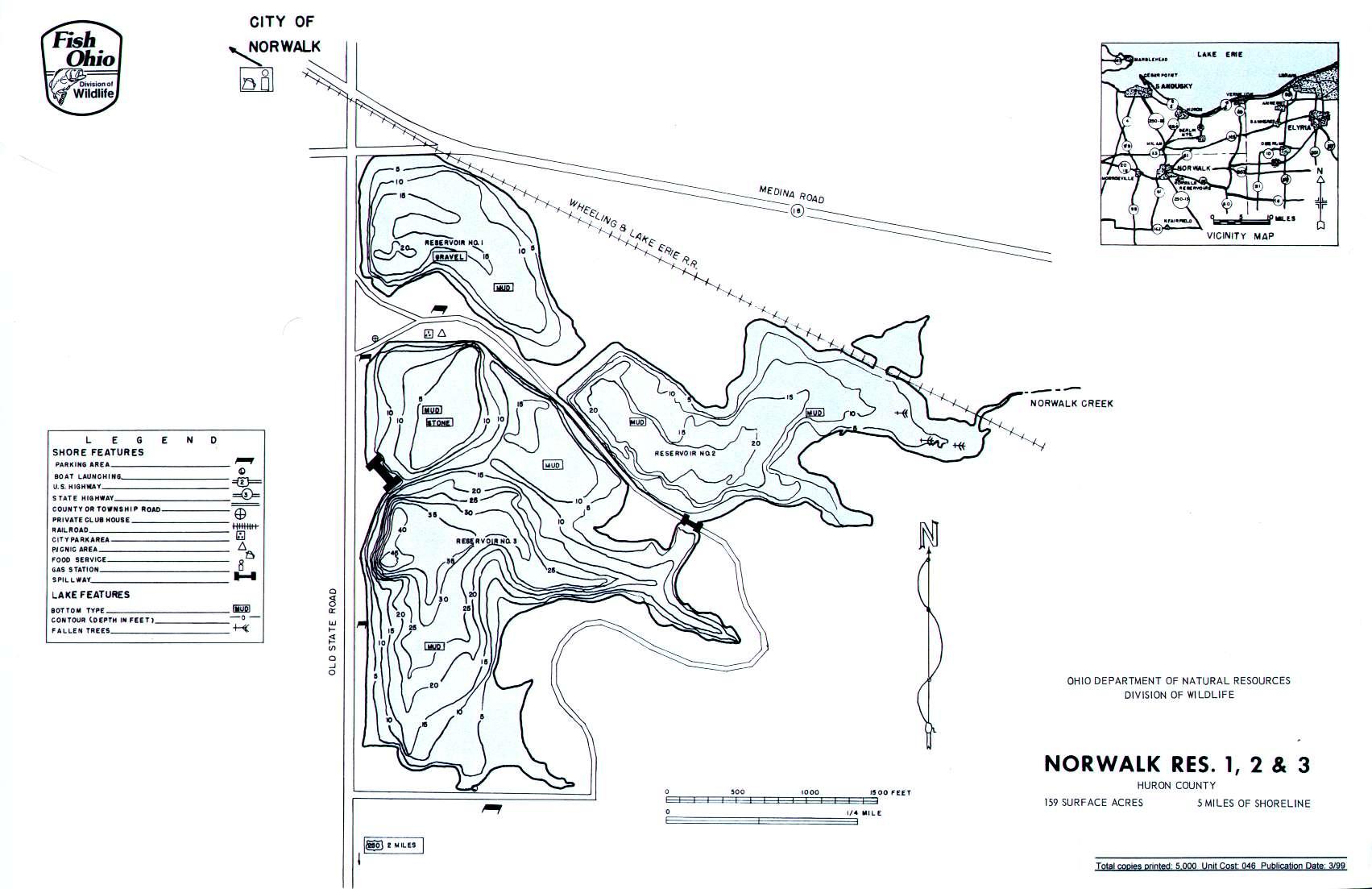 Norwalk Reservoirs 1_2_3 - GoFishOhio