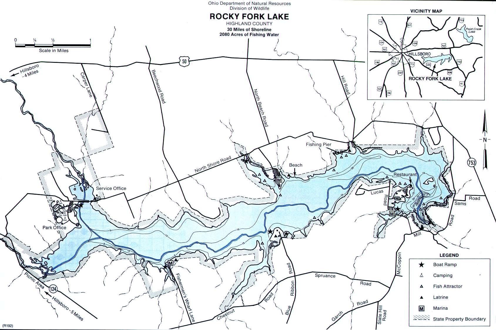 Rocky Fork Lake - Southwest Ohio
