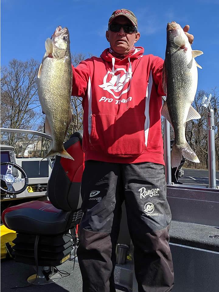 Captain Kevin Swartz - Lake Erie Walleye Charters
