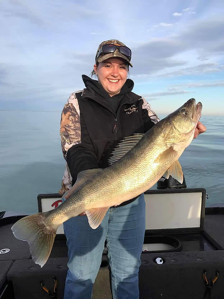 Trophy Lake Erie Walleye