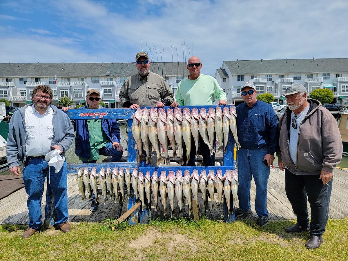 Walleye fishing report