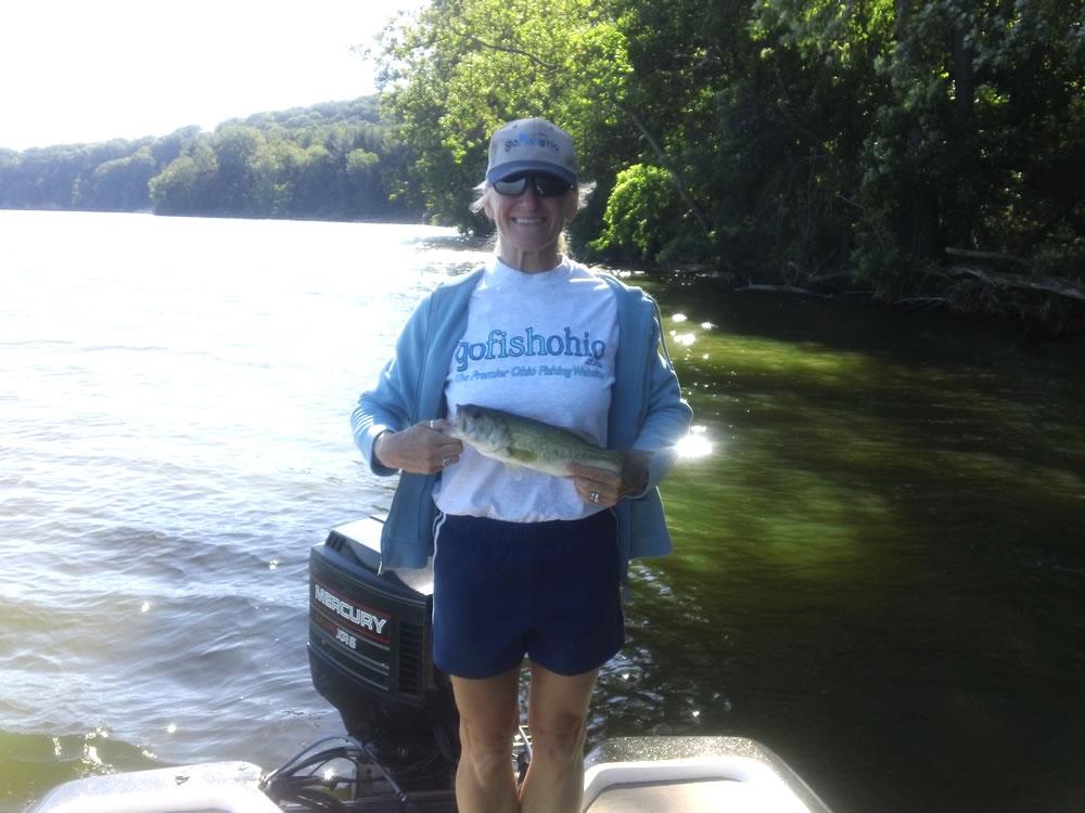 Pleaseant hill reservoir fishing map northwest ohio for Ohio dnr fishing license