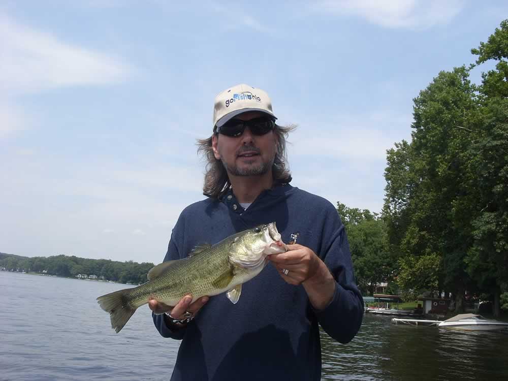Portage lakes fishing map northeast ohio go fish ohio for Ohio dnr fishing license