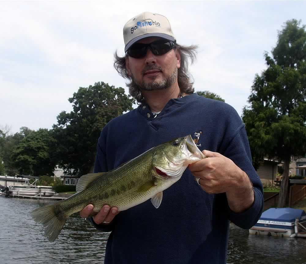 Portage lakes fishing map northeast ohio go fish ohio for Fishing in ohio