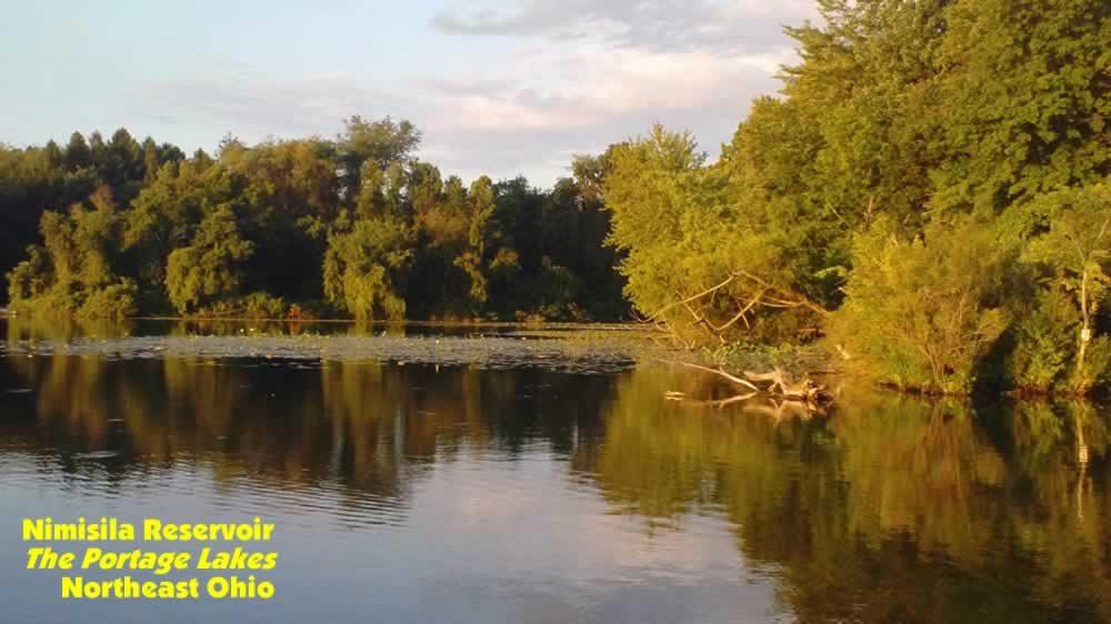 Nimisila Reservoir, OH Fishing Map